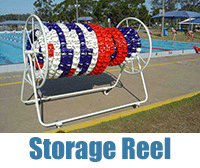 Swimming Pool Storage Lane Rope Storage Reels