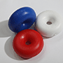 Red, White and Blue Swimming Lane Floats, links to larger image