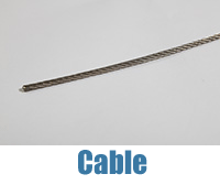 Stainless Steel Cable used for Midi and Maxi Swimming Lanes