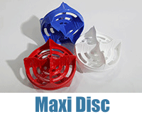Red, White and Blue Maxi Discs