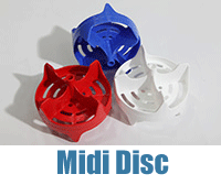 Red, White and Blue Midi Discs