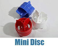 Red, White and Blue Mini Discs