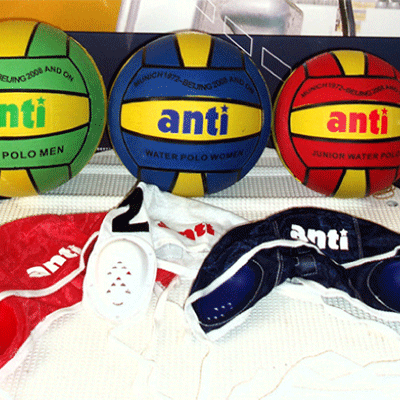 Water Polo Balls and Caps