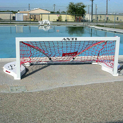 Assembled Junior Water Polo Goal